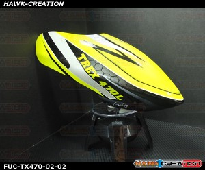 FUC-TX470-02 FUSUNO Greenify Airbrush canopy Trex 470L
