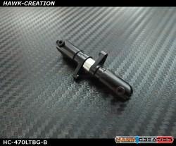 Thrust Bearing Tail Grip Set (3mm Shaft, Black) For 450/470L