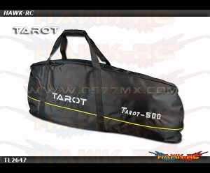 Tarot 500 Size Heavy Duty Heli Carry Bag (Black)