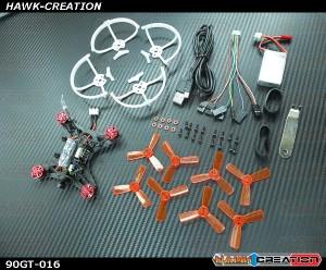 KINGKONG 90GT BNF Brushless FPV RC Racing Drone (W/DSM2 RX)