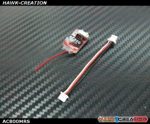 AC800 D8 2.4G 8CH CPPM SBUS Receiver for FrSky X9D X9DPlus X12S X9E Transmitter