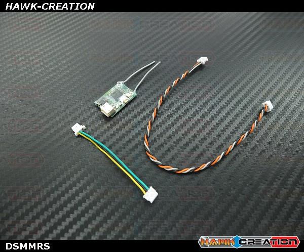 DSMX Satellite Receiver 2.4Ghz DSMX/DSM2 Compatible with BIND Button