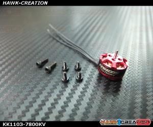 Kingkong 1103 7800KV 1-3S Brushless Motor For 50 80 100 RC Mini Multirotor