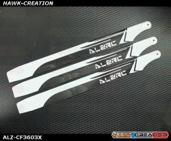 ALZ 360mm Carbon Main 3 Blades