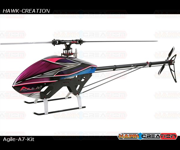 AGILE A7 Helicopter Kit  (Order Day  - 3 days)