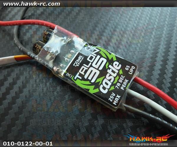 Castle Creations TALON 35 AMP ESC, 6S / 25V WITH 7 AMP BEC