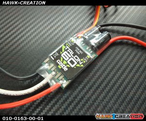 Castle Creations TALON 60 , 6S / 25.2V, 60 AMP ESC WITH 20 AMP BEC