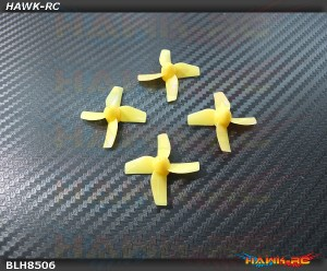 BLADE - Prop Set (4), Yellow: Inductrix [BLH8506]