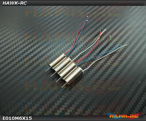 Spare Motor Set (2 x CW, 2 x CCW ,without plug) For E010 / Inductrix