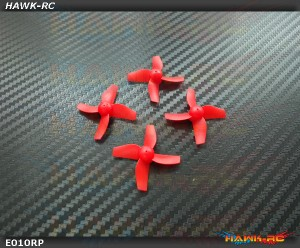2 Pairs Propellers Prop (Red) For Blade Inductrix RTF BLH8700