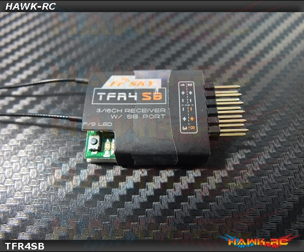 FrSky 3/16ch S.BUS receiver - TFR4SB
