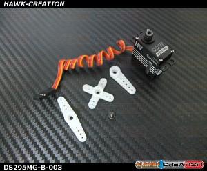 GDW DS295MG Digital Micro Size Tail Servo  (760us,Coreless 3.5Kg.cm@7.4V,0.05s/60degree)