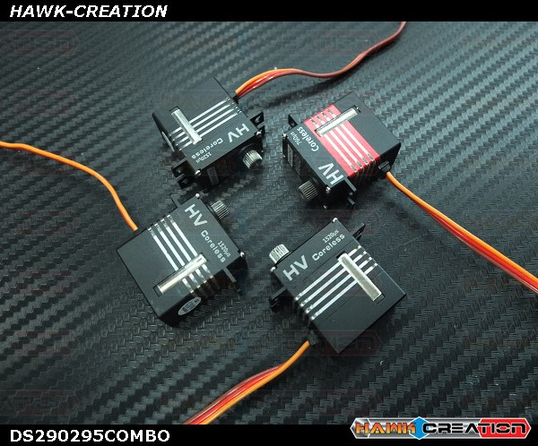 GDW DS290295MG Digital Micro Size Servo Combo with Tail Servo