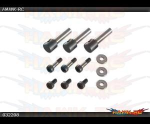 X3 3 Blades Rotor Spindle Shafts Pack
