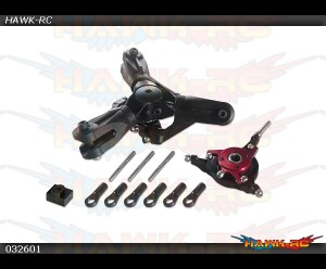 X3 CNC 3 Blade Rotor Head Complete Assembly