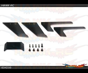 X3 CNC CF Landing Gear(For Original X3 Frame)