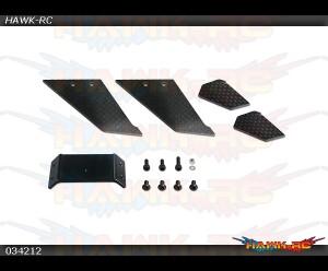 X3 CNC CF Landing Gear(For 034601Conversion Set (Kit A)