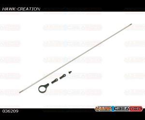Gaui X3 Tail push rod (for Belt version)(for 385L ,  X3L)