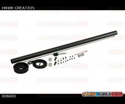 Gaui X3 Stretch Belt Conversion Pack (385L)