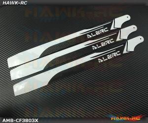 ALZ 380mm Carbon Main 3 Blades