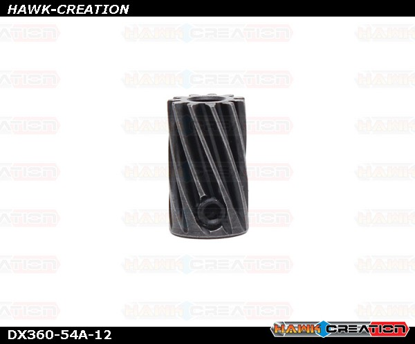 NEW X360 High Carbon Steel Motor Gear - 12T /3.5mm X3 034206 Replacement