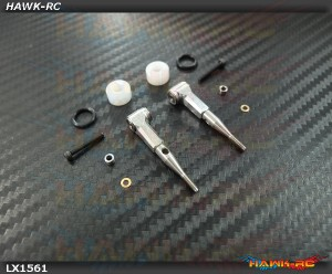 LYNX Ultra DFC Rod Set Silver - Gaui X3