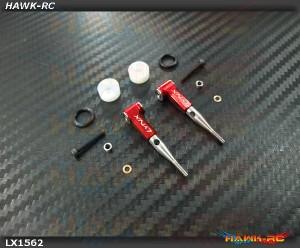 LYNX Ultra DFC Rod Set Red - Gaui X3