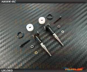 LYNX Ultra DFC Rod Set Black - Gaui X3