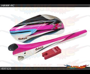 Type A6 Canopy + Tail Boom in Star Light Pink (For X3)