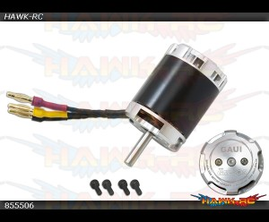 GUEC GM-505 Brushless Motor(1680W-1400KV)
