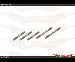 X7 X5 X4 Main Blade Linkage Rod (2x31mm)x2(2×23.5mm)x3