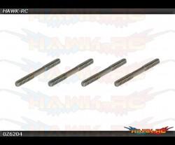 X5 V2 / R5 Stainless Linkage Set(2×23.5mm)x4pcs
