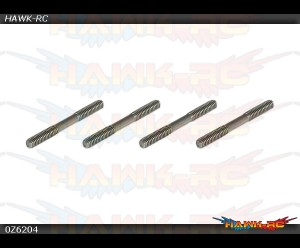X5 V2 / R5 Stainless Linkage Set(2×23.5mm)x4pcs