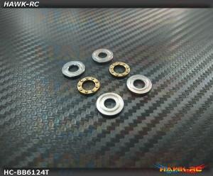 High Quality Thrust Bearings (T6x12x4.5) - 2pcs