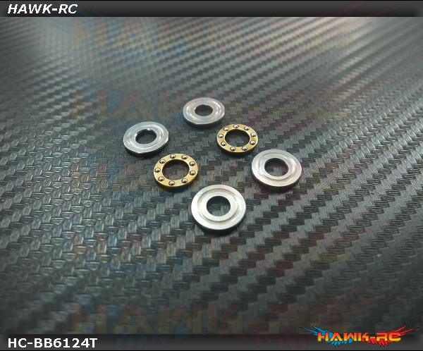 High Quality Thrust Bearings (T6x12x4.5) - 2pcs