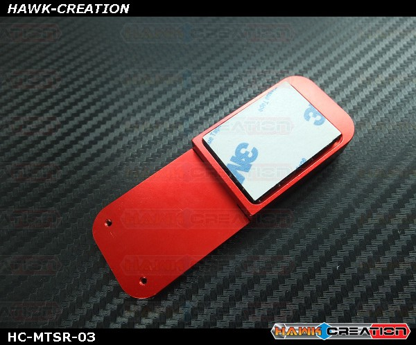 Hawk Creation CNC Magnetic Transmitter Stand Red