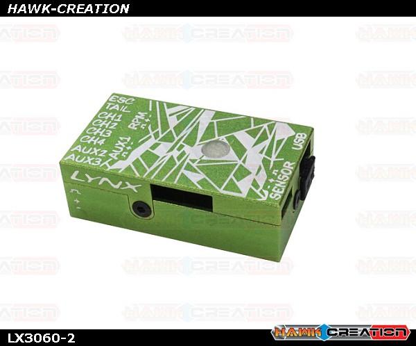 LYNX - VBAR NEO V2 Alu Case - Green - Digital Cracks