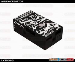 LYNX - VBAR NEO V2 Alu Case - Black - Digital Cracks