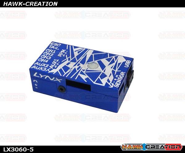 LYNX - VBAR NEO V2 Alu Case - Blue - Digital Cracks