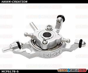 Rakonheli CNC AL Swashplate Set (Silver) - Blade mCP X/V2/S