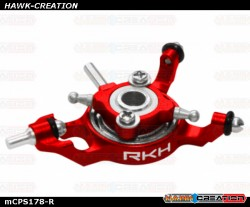 Rakonheli CNC AL Swashplate Set (Red) - Blade mCP X/V2/S