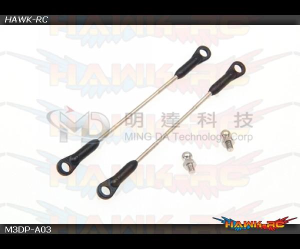 MD5/6 - M3DP-A03 - Standard FBL Head Link Rods w/ Balls