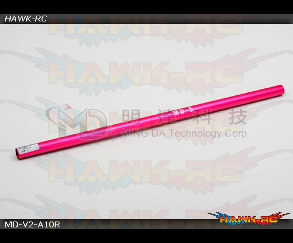 MD5/6 - MD-V2-A10R - Tail Boom & Torque Tube - MD5 - Red