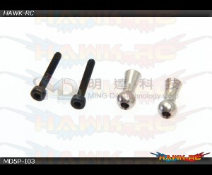 MD5/6 - MD5P-I03 - Tail Blade Grip Linkage Balls