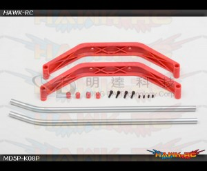 MD5/6 - MD5P-K08P - Skid Set - Red