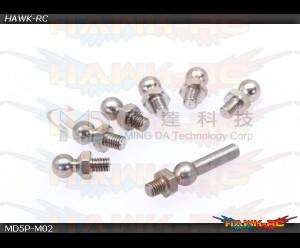 MD5/6 - MD5P-M02 - Swashplate Linkage Balls