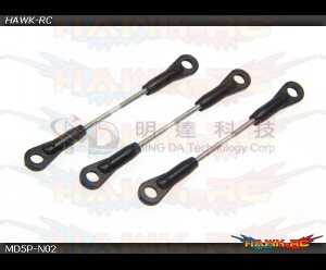 MD5/6 - MD5P-N02 - Cyclic Servo Linkage Rods