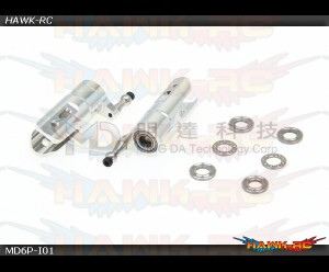 MD5/6 - MD6P-I01 - Tail Blade Grips Assembly