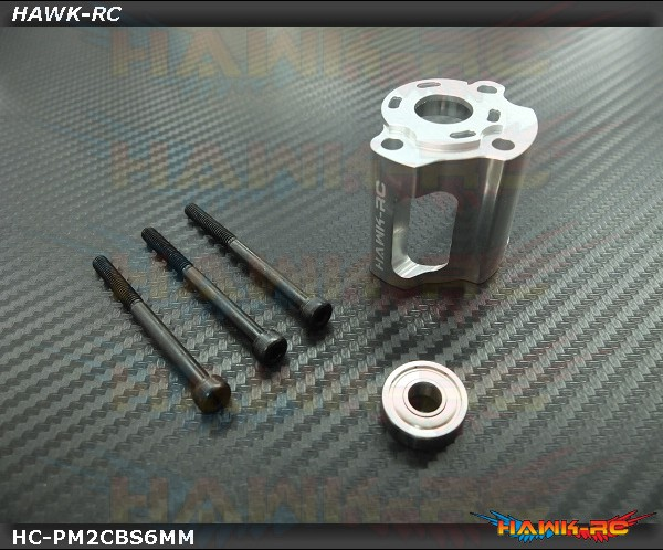 Hawk Counter Bearing Mount For MSH Protos Max V2 (6mm)