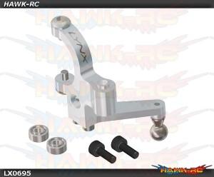 MINI PROTOS - Precision Tail Bell Crank Lever - Silver